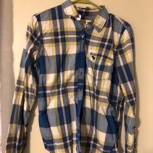 Plaid Abercrombie & Fitch Button Down Shirt